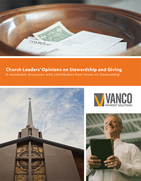 Church Leaders' Opinions on Stewardship and Giving