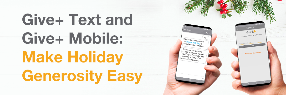Giveplus Holiday Generosity Easy