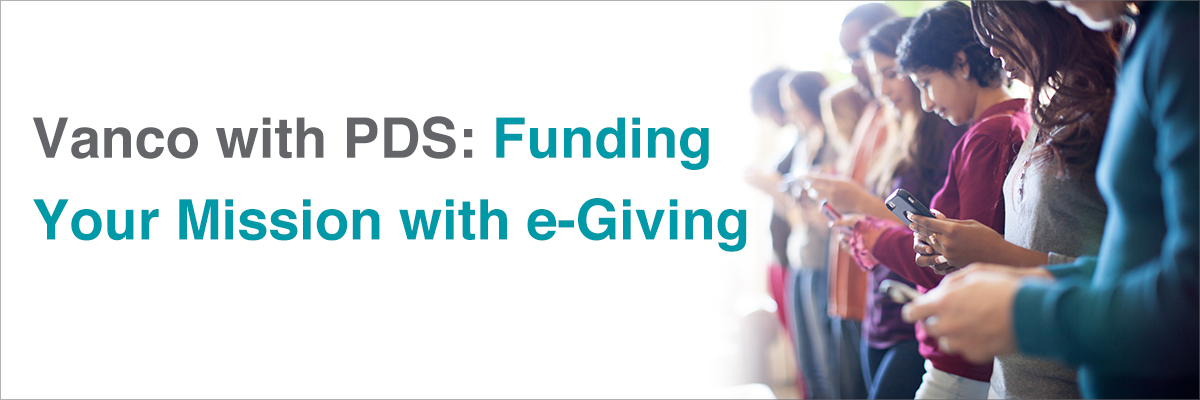 Funding Your Mission with e-Giving